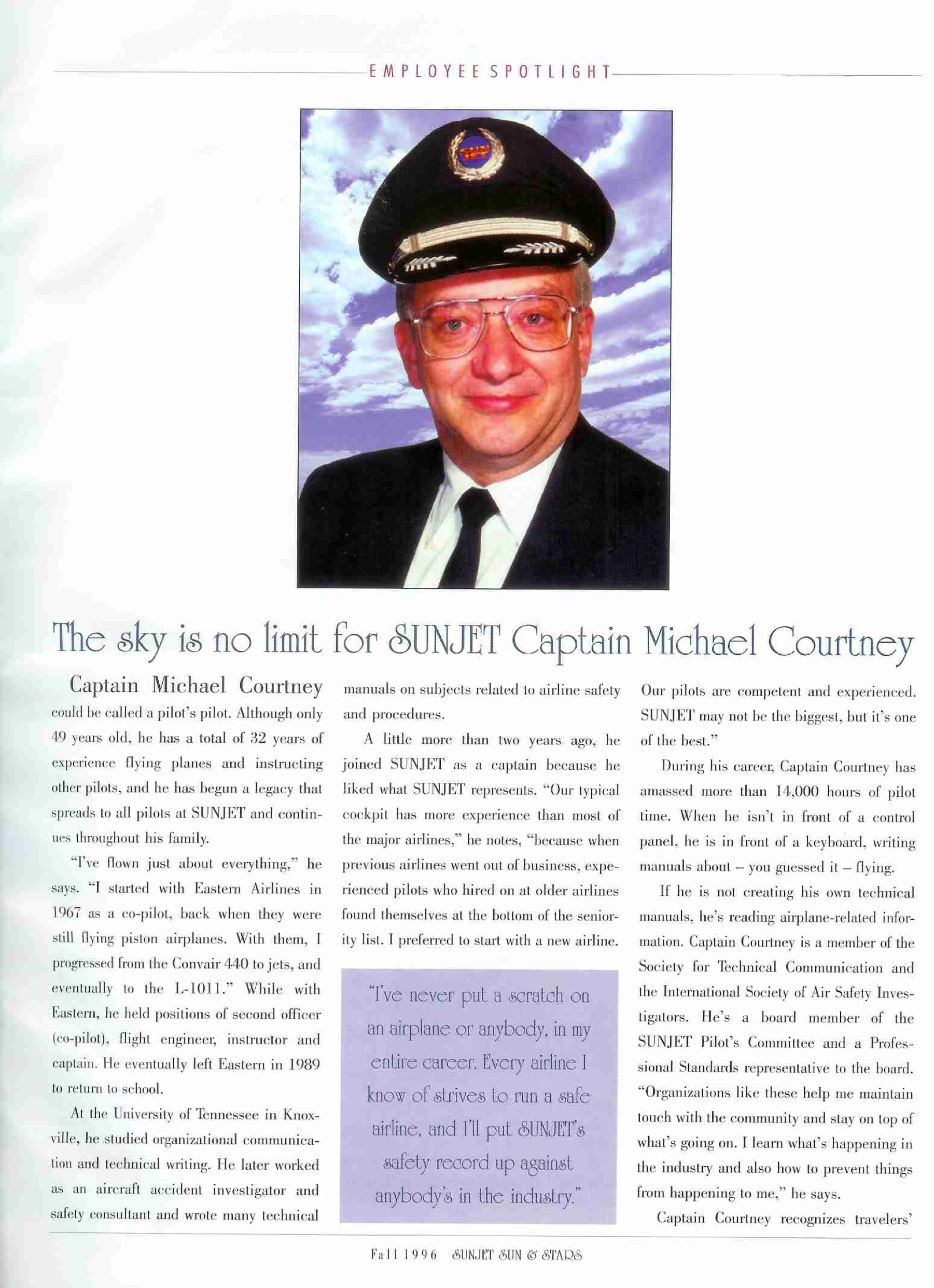 Captain Michael Courtney