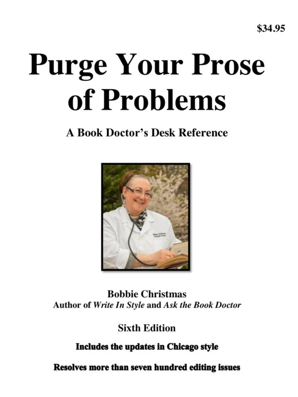 Purge Your Prose of Problems